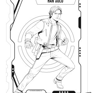Free Printable SOLO: A Star Wars Story Coloring Pages + New Clip #HanSoloEvent #HanSolo