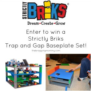 Strictly Briks Trap And Gap Baseplates Review and Giveaway!
