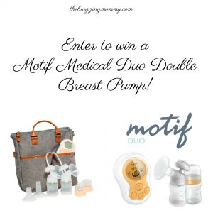 Motif Duo Double Breast Pump Review and Giveaway!