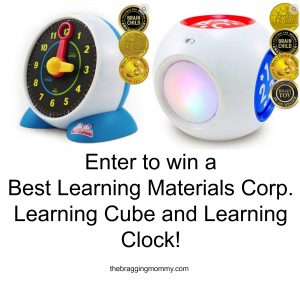 Best Learning Materials Corp. Learning Cube and Learning Clock Review and Giveaway!