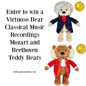 Virtuoso Bears- Classical Music Recordings Mozart and Beethoven Teddy Bears Review 20% Discount, and Giveaway!