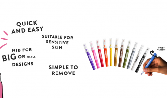 Snazaroo Brush Pens for Face Painting Review