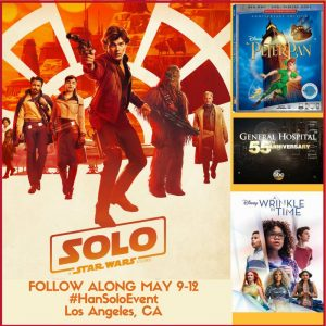 Follow Along Next Week as I Head to LA to Cover SOLO: A Star Wars Story + More! #HanSoloEvent