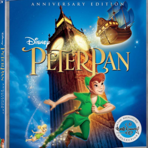 Peter Pan is Now Available on Blu-ray! 65th Anniversary Walt Disney Signature Collection #PeterPanBluray