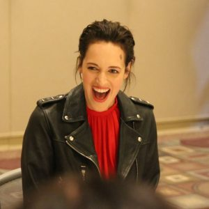 "Talking with Phoebe Waller-Bridge who Plays ""L3-37"" in SOLO: A STAR WARS STORY #HanSoloEvent"
