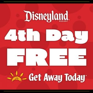 Right Now Get Your 4th Day Free At Disneyland ~ Discount Tickets Special