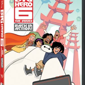 Disney's Big Hero 6 Back in Action DVD Giveaway