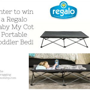 Regalo Baby My Cot Portable Toddler Bed Review and Giveaway!