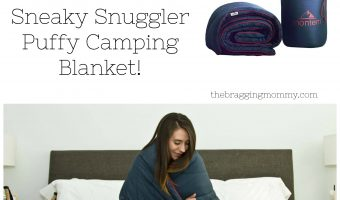Montem Outdoor Gear Sneaky Snuggler Puffy Camping Blanket Review, 10% Discount, and Giveaway