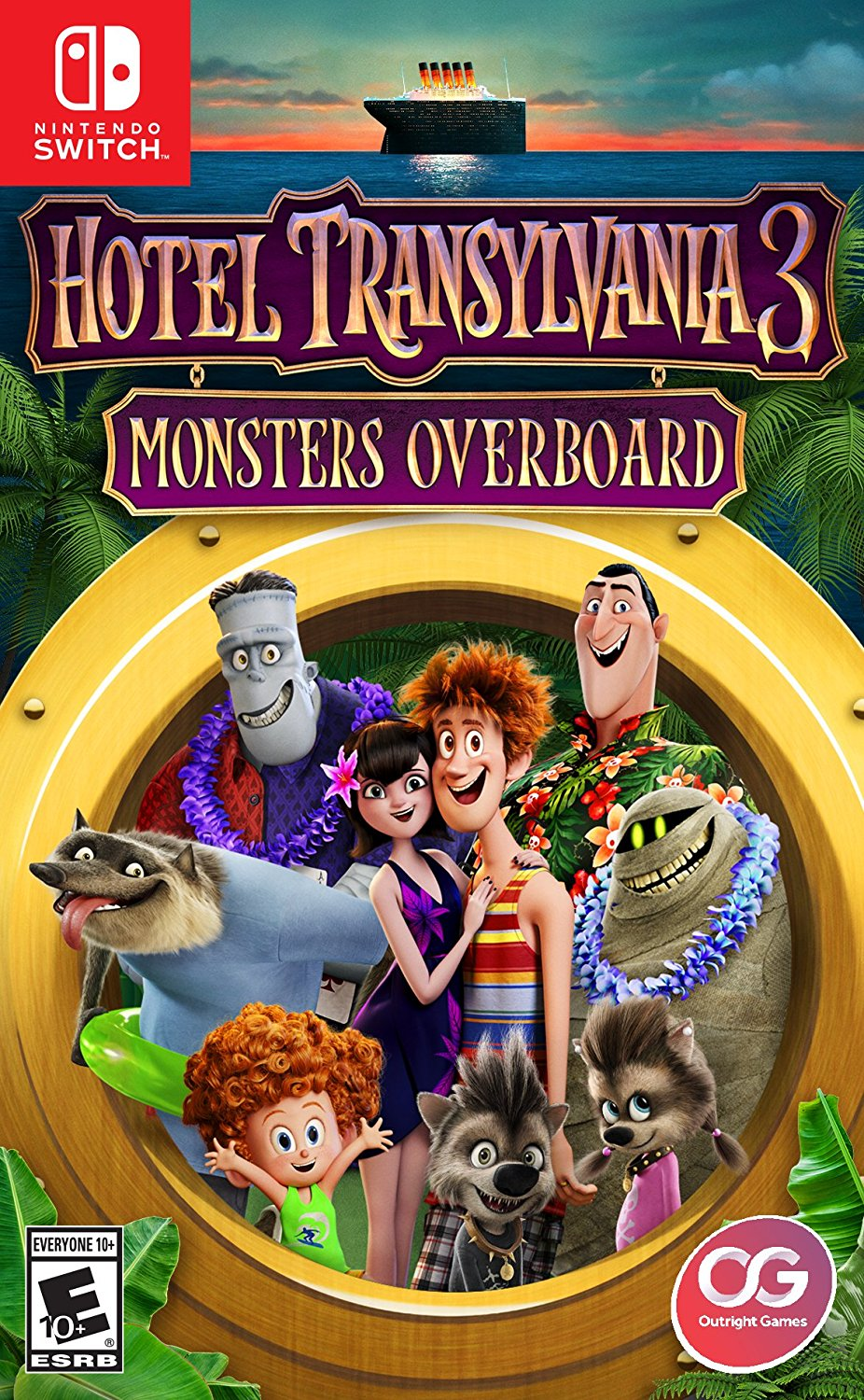 Hotel Transylvania 3: Monsters Overboard Video Game