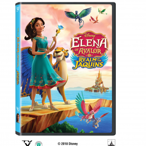 Elena of Avalor: Realm of the Jacquins DVD Giveaway
