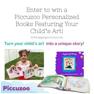 Piccuzoo Personalized Books Featuring Your Child's Art Review, Discount and Giveaway