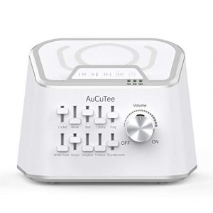 Get a Customized Sleep Mix with the AuCuTee White Noise Machine ~ Review