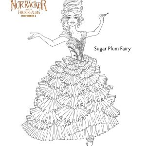 Printable Coloring & Activity Sheets for Disney's The Nutcracker and the Four Realms! #DisneysNutcracker opens Nov. 2nd