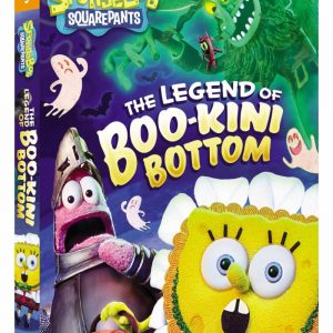 SpongeBob SquarePants: The Legend of Boo-Kini Bottom DVD Giveaway