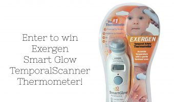 Exergen Smart Glow TemporalScanner Thermometer and Giveaway!