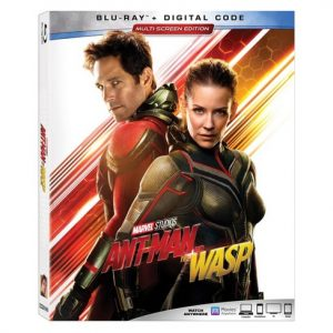 ANT-MAN AND THE WASP is Now Available on Digital & on Blu-ray Tomorrow 10/16! #AntManAndTheWasp