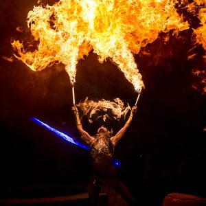 Fire dancer for hire: unforgettable performance for your special event