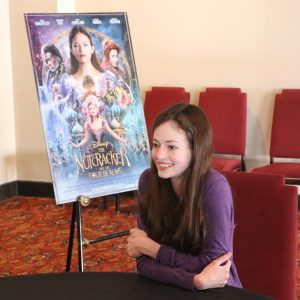 Chatting with Clara from Disney's THE NUTCRACKER AND THE FOUR REALMS ~ Mackenzie Foy Interview #DisneysNutcrackerEvent