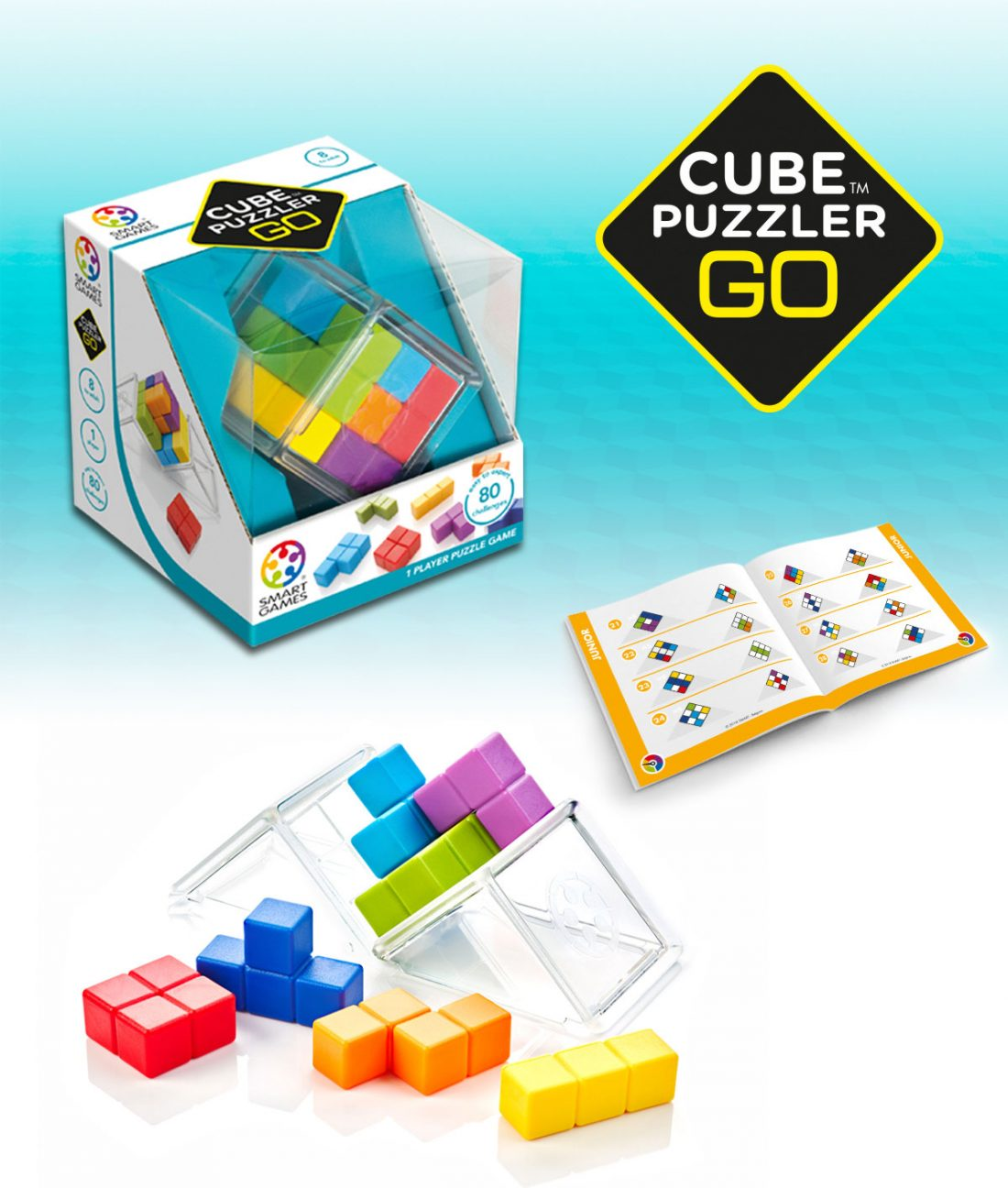 Edu-taining SmartGames Sleeping Beauty, Cube Puzzler GO and Cube