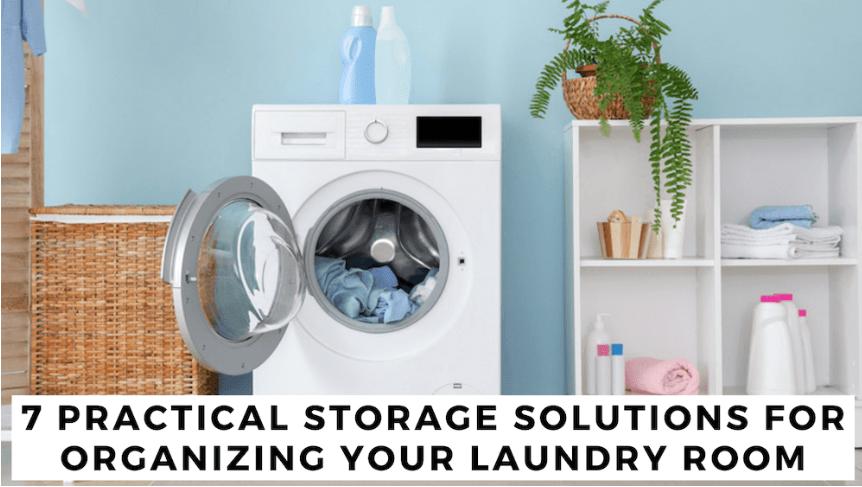 How To Organize A Laundry Room Closet